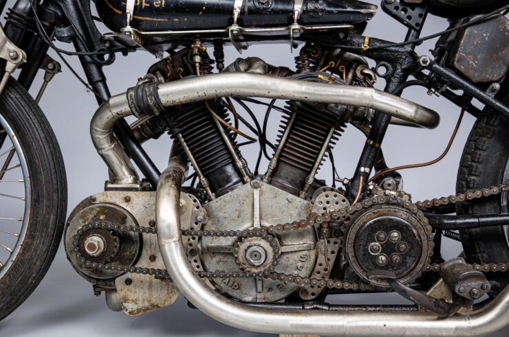 Supercharged Brough Superior SS100 Special 7