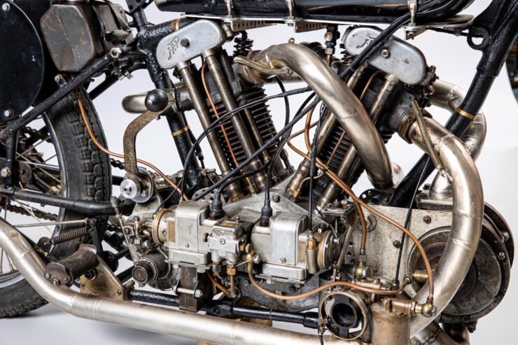 Supercharged Brough Superior SS100 Special 8