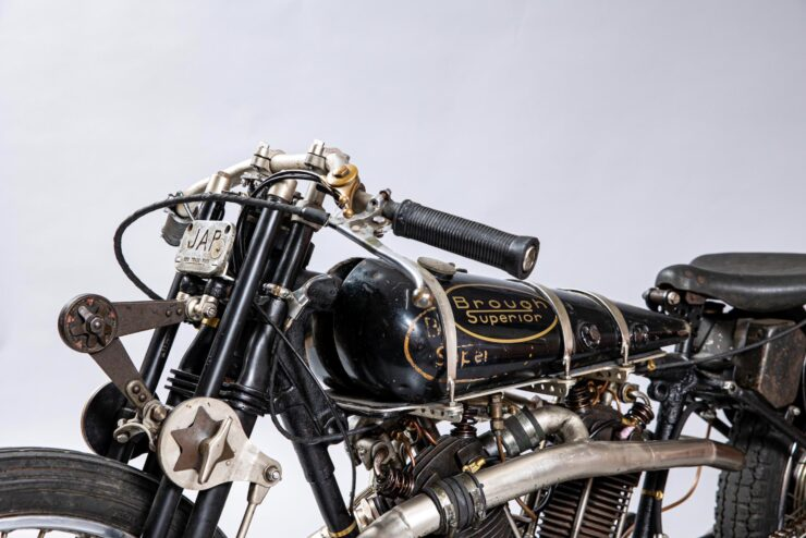 Supercharged Brough Superior SS100 Special 9