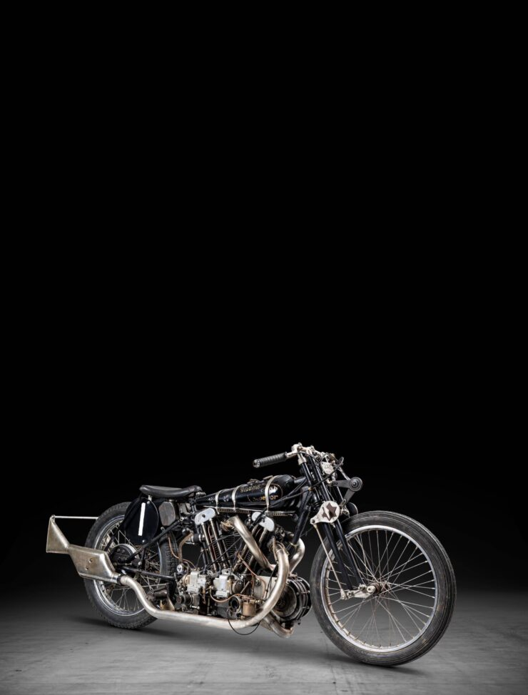 Supercharged Brough Superior SS100 Special Tall 2