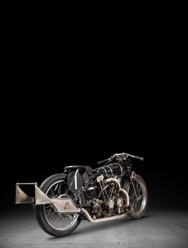 Supercharged Brough Superior SS100 Special Tall 3