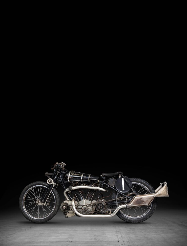 Supercharged Brough Superior SS100 Special Tall 4