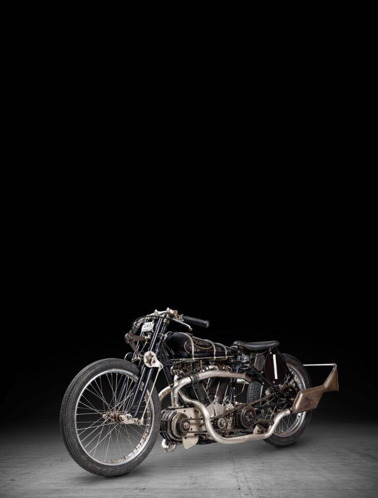 Supercharged Brough Superior SS100 Special Tall