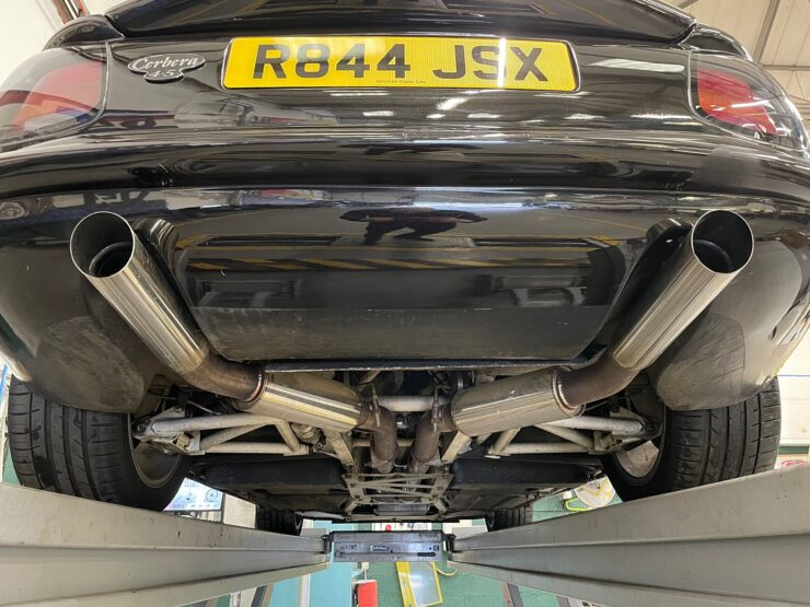 TVR Cerbera Chassis