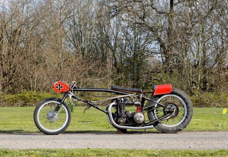 Triumph Drag Racing Bike 1