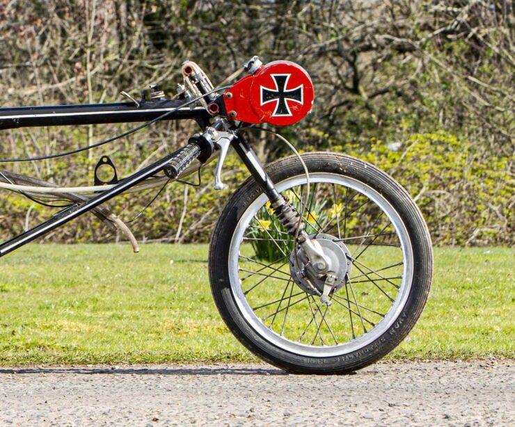 Triumph Drag Racing Bike 4