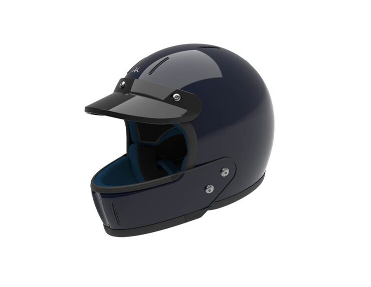Veldt Enduro Black Motorcycle Helmet