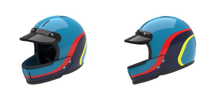 Veldt Enduro Blue Helmets