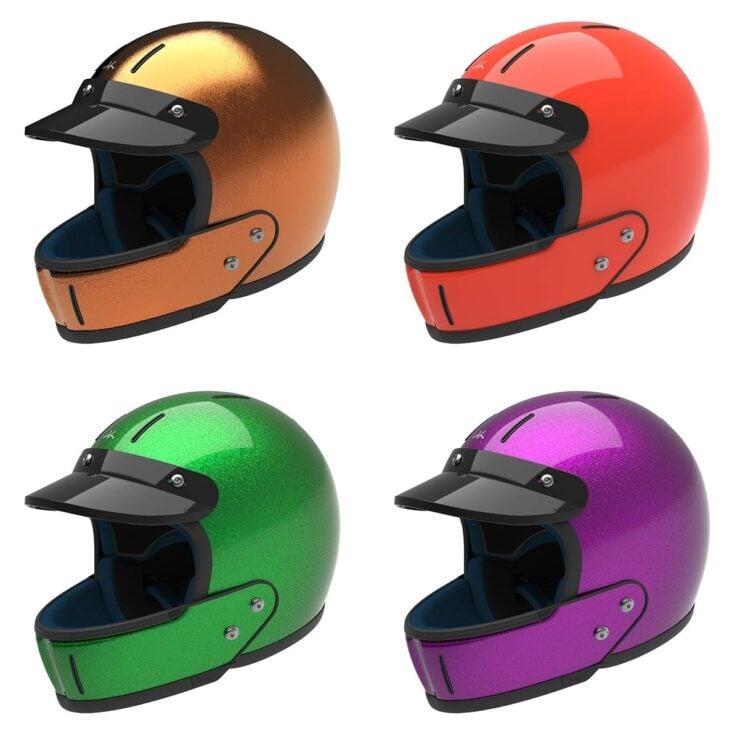 Veldt Enduro Helmet Colors
