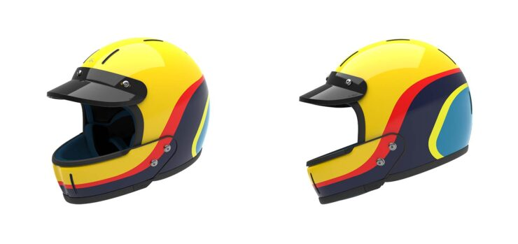 Veldt Enduro Yellow Helmets
