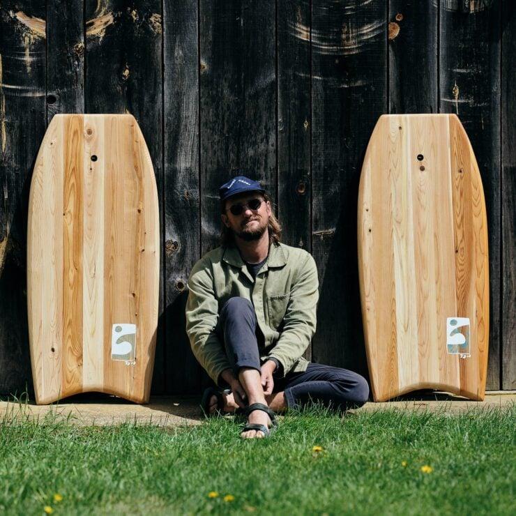 Woogie Bodyboard Grain Surfboards 3'