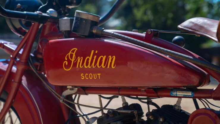 1927 Indian Scout 14