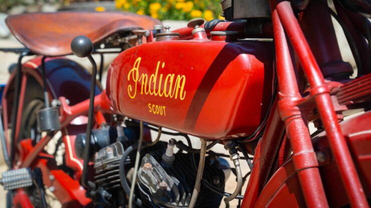1927 Indian Scout 16