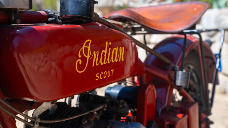1927 Indian Scout 2