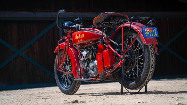1927 Indian Scout 5