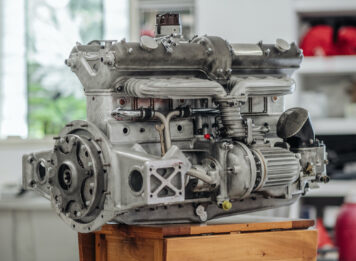 Alfa Romeo 8C Engine