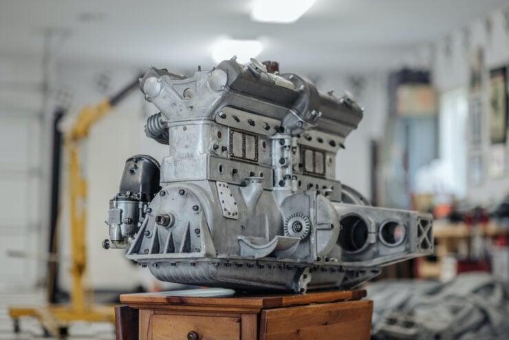 Alfa Romeo 8C Engine 6