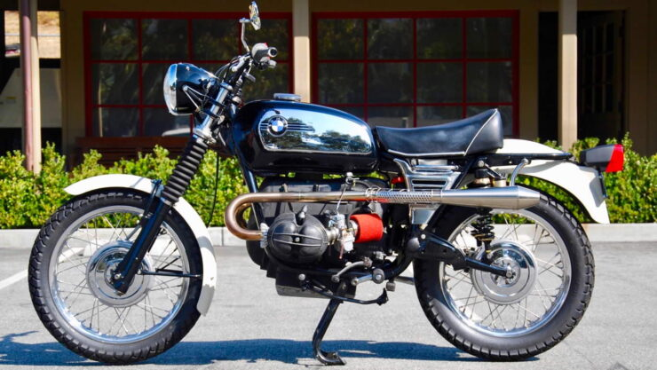 BMW R75-5 Custom Motorcycle 5