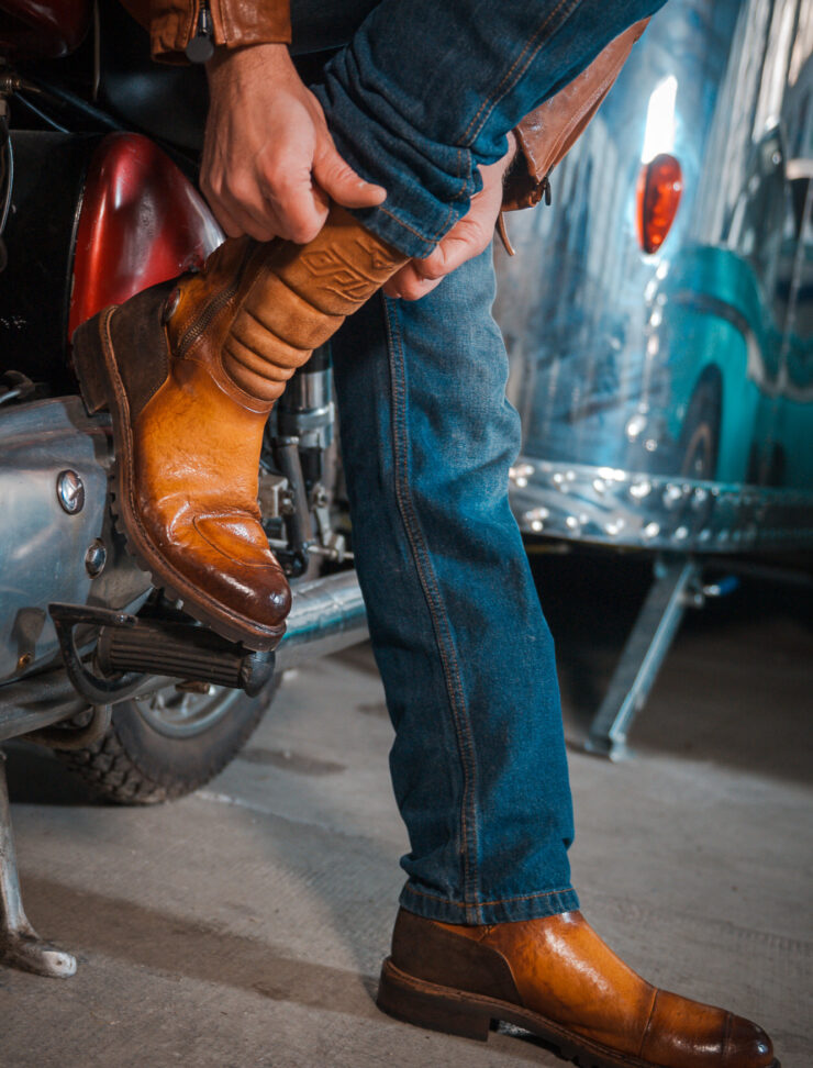 Brutus Rampante Off-Road Motorcycle Boots 1