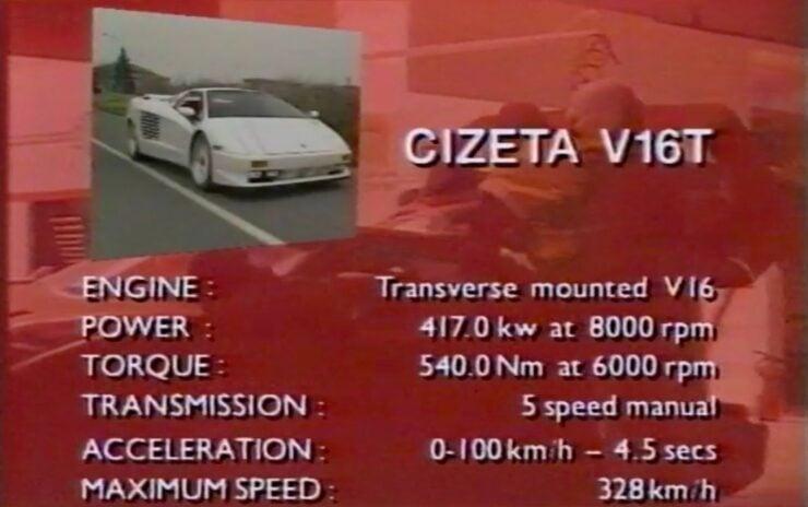 Cizeta-Moroder V16T 7