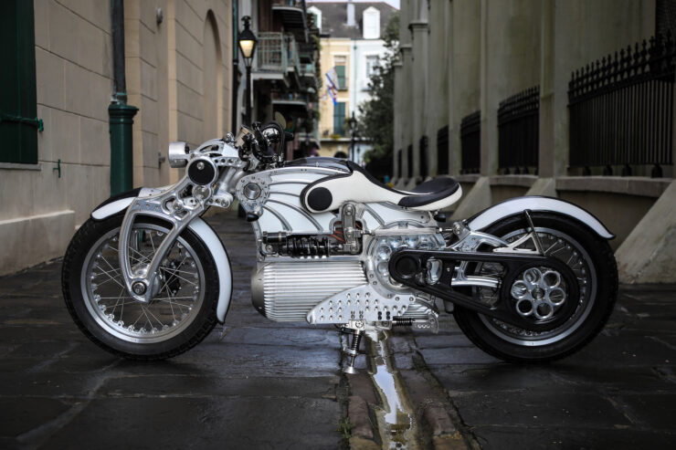 Curtiss The One Electric Motorcycle 10
