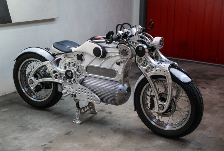 Curtiss The One Electric Motorcycle