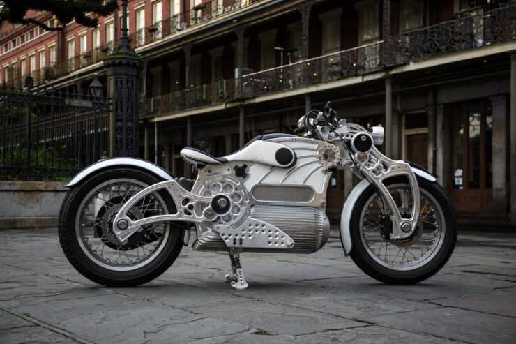 Curtiss The One Ergonomics Motorcycle