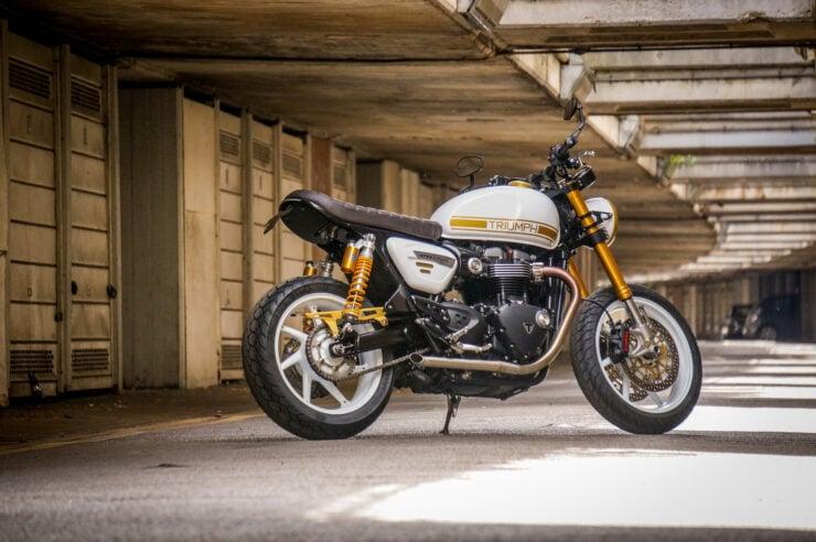 Custom Triumph Speed Twin 10