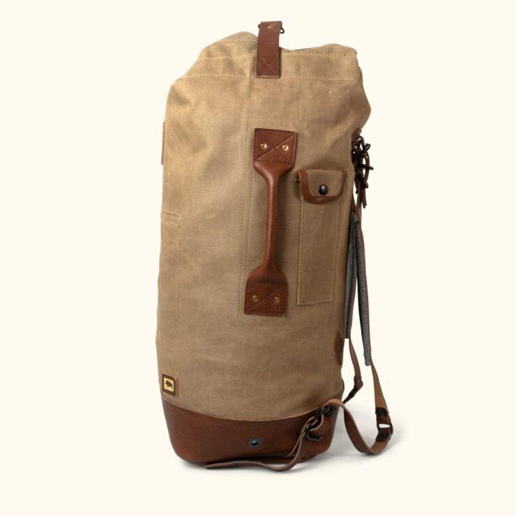 Dakota Waxed Canvas Bag By Buffalo Jackson 1