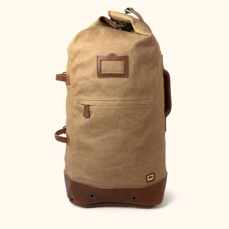 Dakota Waxed Canvas Bag By Buffalo Jackson 2