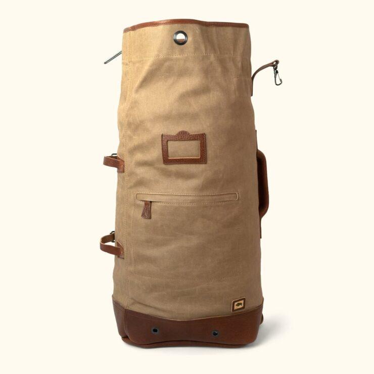 Dakota Waxed Canvas Bag By Buffalo Jackson 5