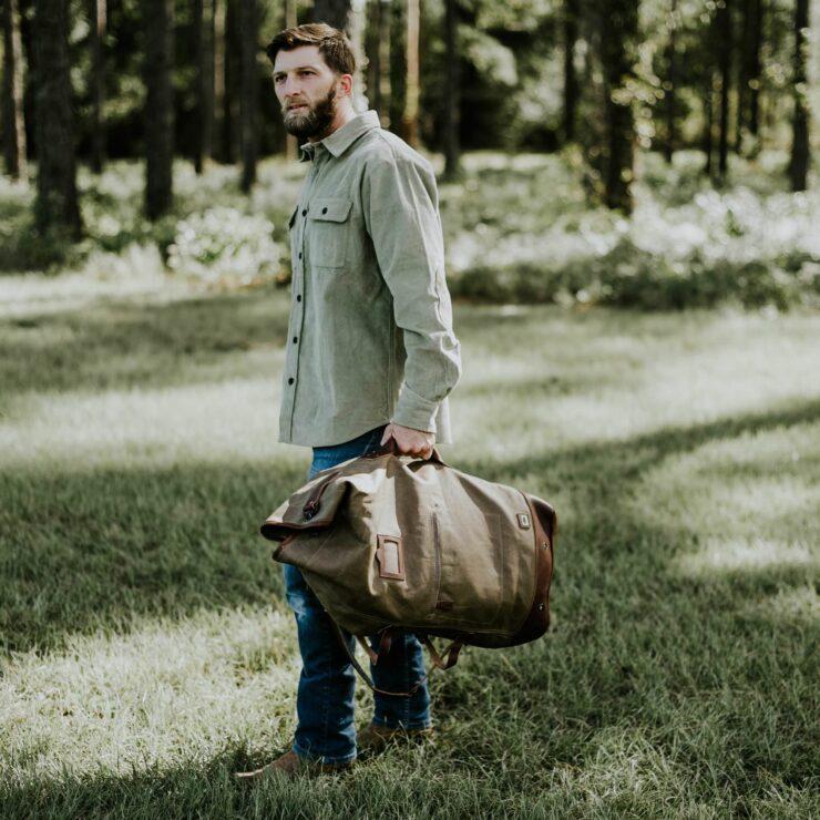 Dakota Waxed Canvas Bag By Buffalo Jackson 8