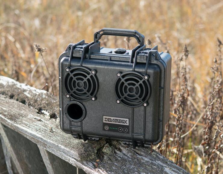 DemerBox DB2 Waterproof Speaker Black