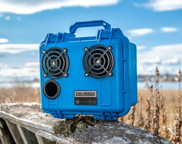 DemerBox DB2 Waterproof Speaker Blue