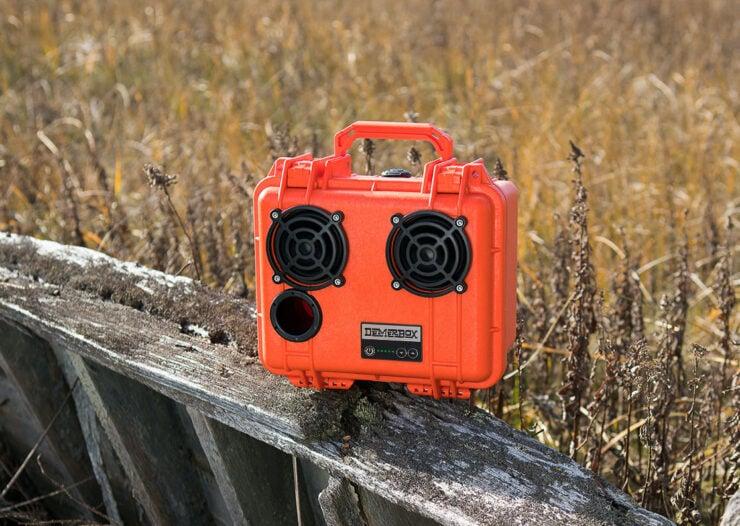 DemerBox DB2 Waterproof Speaker Orange