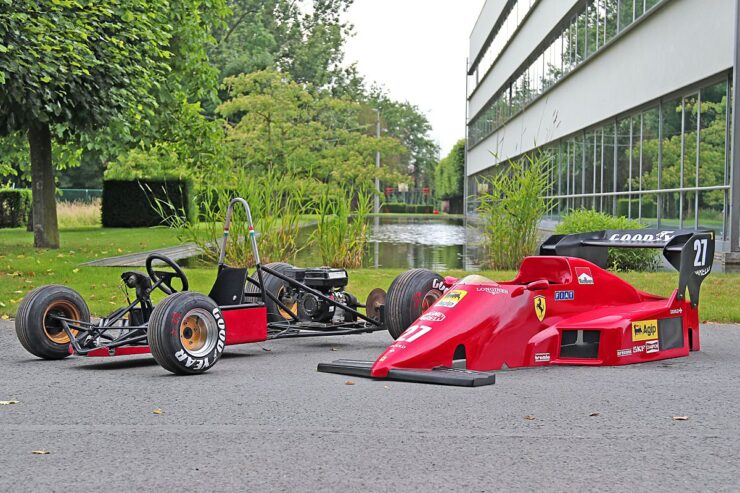 Ferrari 126C4 Junior Formula 1 Car 5