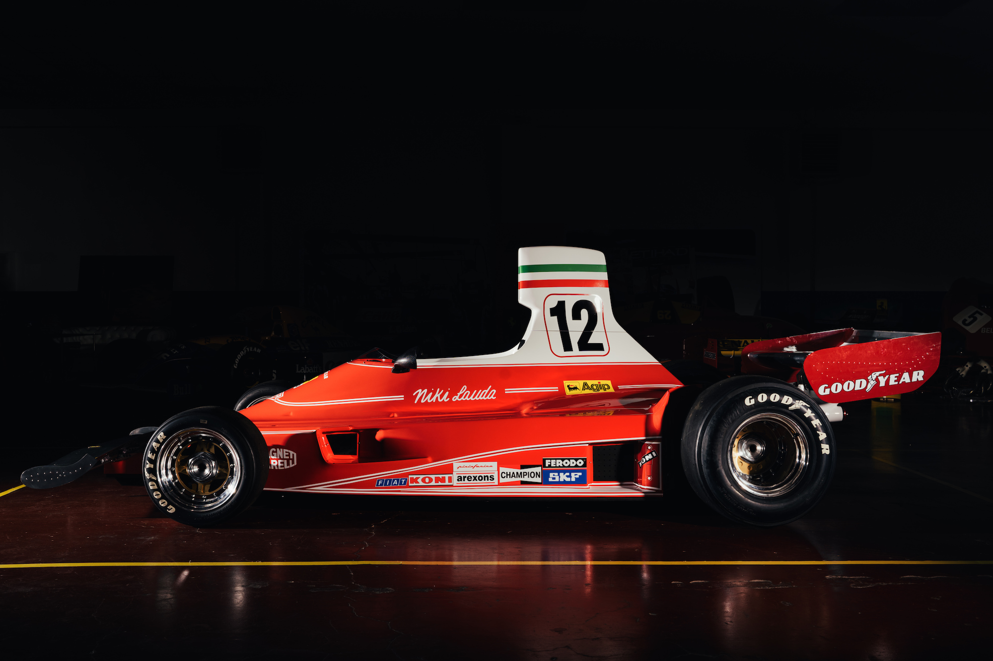 Ferrari 312T Formula 1 Car 4