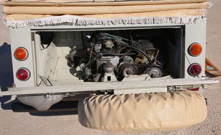 Fiat 600 Savio Jungla Engine 2