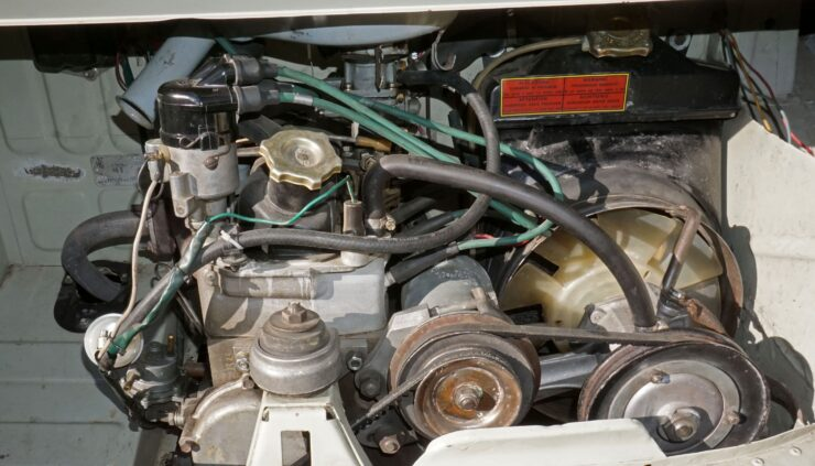 Fiat 600 Savio Jungla Engine