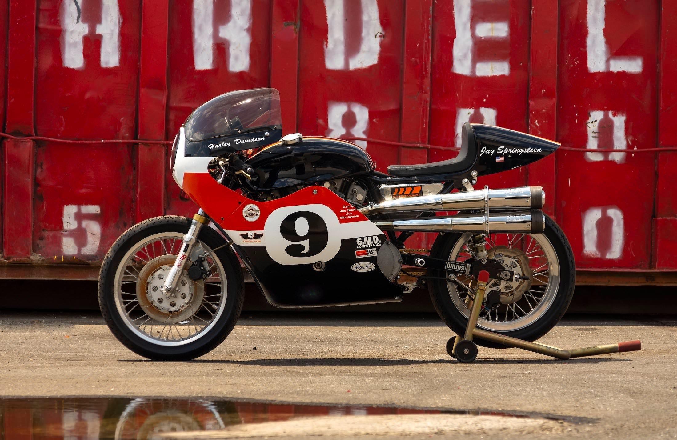 Harley-Davidson XRTT Road Racer Side