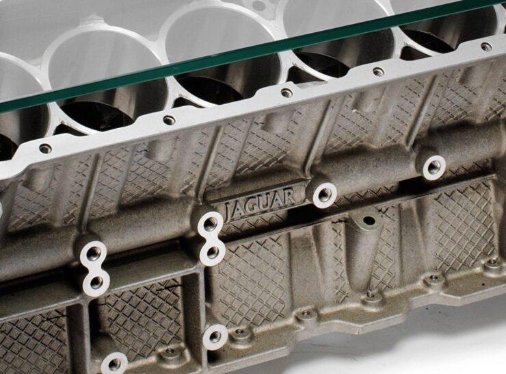 Jaguar V12 Engine Block Coffee Table 1