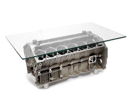 Jaguar V12 Engine Block Coffee Table