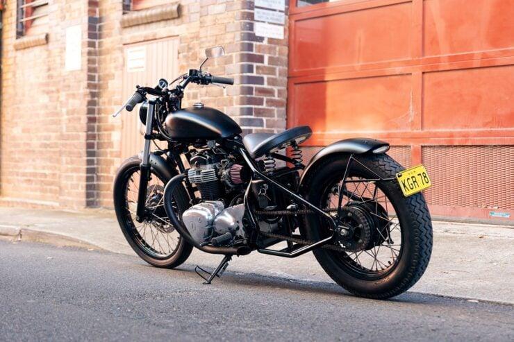 Kawasaki W650 Bobber 1