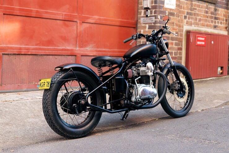 Kawasaki W650 Bobber 13