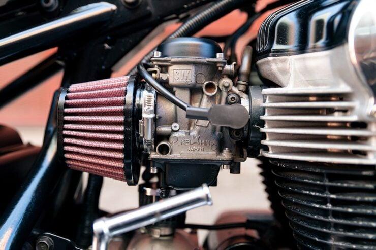 Kawasaki W650 Bobber 14
