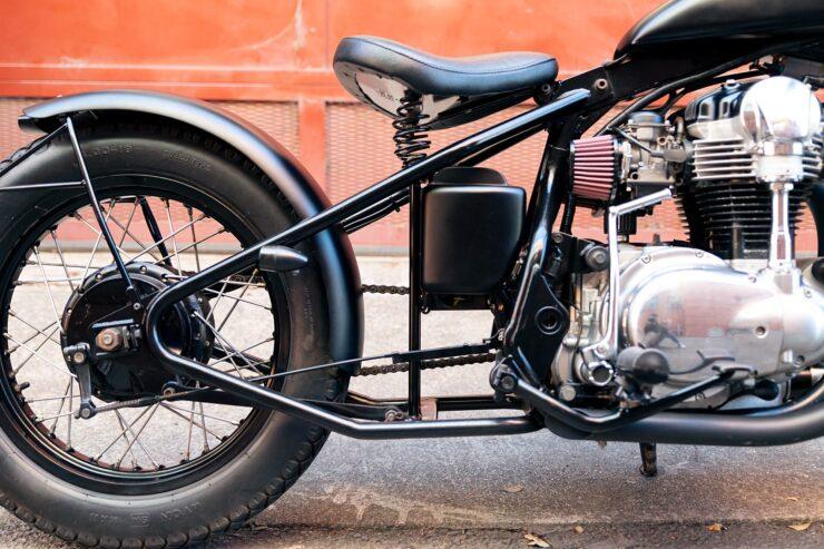 Kawasaki W650 Bobber 16