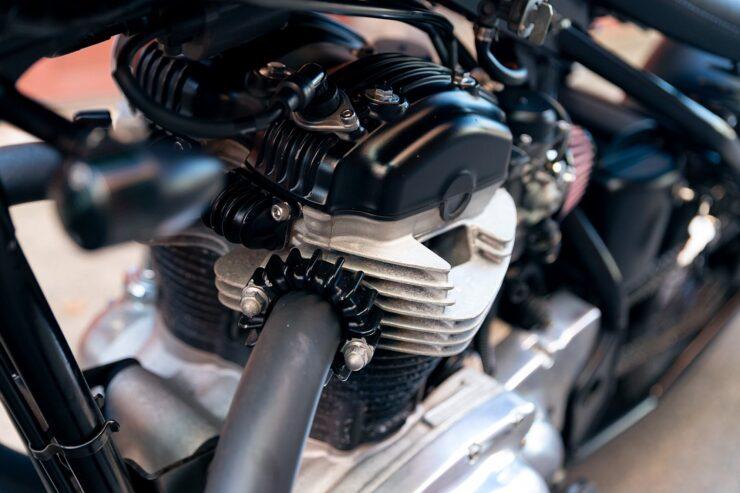 Kawasaki W650 Bobber 19