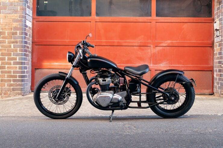Kawasaki W650 Bobber 3