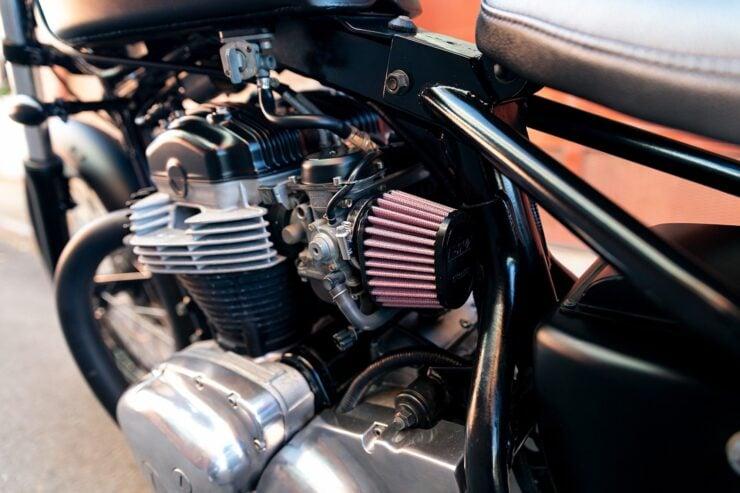 Kawasaki W650 Bobber 4