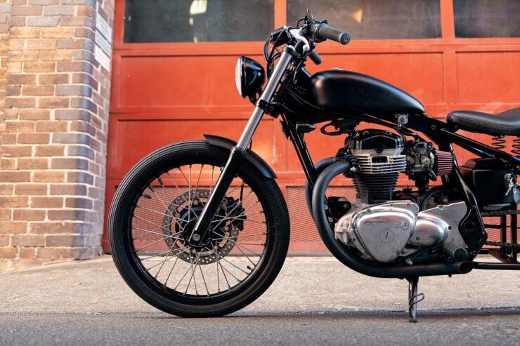 Kawasaki W650 Bobber 6